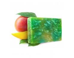 Naturalne ręcznie robione mydło zmasłem zmango 100 g
