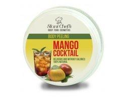 Prírodný telový peeling mango kokteil na báze morskou soľou 250 ml
