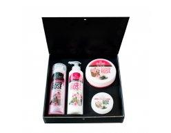Zestaw naturalnych kosmetyków z róży bułgarskiej 850 ml