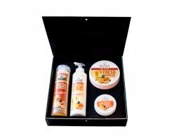 Zestaw naturalnych kosmetyków o zapachu świeżej oranżady 850 ml