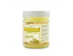 Naturalna maseczka do włosów normalnych z miodem, mlekiem i oliwą z oliwek 200 ml