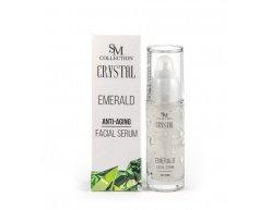 Prírodné tvárové gél sérum smaragd 30 ml