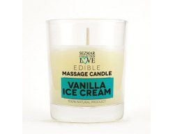 Přírodní masážní svíčka vanilka 100 ml