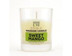Přírodní masážní svíčka mango 100 ml