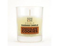 Přírodní masážní svíčka čokoláda 100 ml