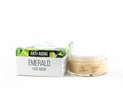 Prírodná tvárová maska smaragd 100 ml