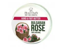 Naturalny krem do rąk i stop róża bułgarska 100 ml