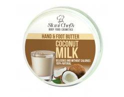Natürliche Hand- und Fußcreme Kokosmilch 100 ml