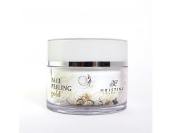 Prírodný tvárový peeling zlato 100 ml