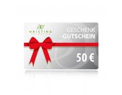 Elektronischer Geschenkschein 50 €