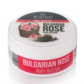Přírodní tělové máslo bulharská růže 250 ml