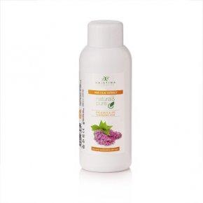 Natürliche Hautreinigungsmilch für Augen, Gesicht und Lippen – Flieder 150 ml