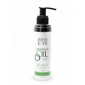 Přírodní masážní olej žvýkačka 100 ml
