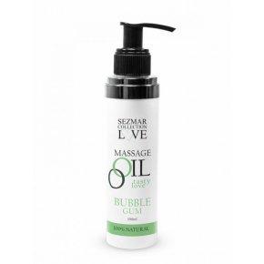 Naturalny olejek do masażu guma do żucia 100 ml