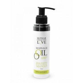 Přírodní masážní olej sladké mango 100 ml