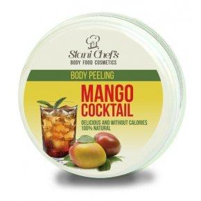 Přírodní tělový peeling mango koktejl na bázi mořské soli 250 ml
