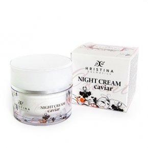 Přírodní zpevňující noční krém s kaviárem 50 ml