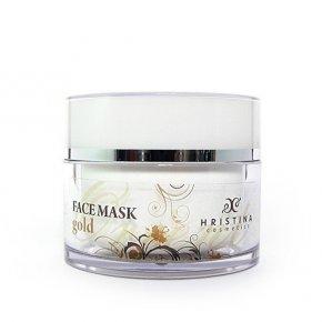 Natürliche Gesichtsmaske mit Gold 100 ml