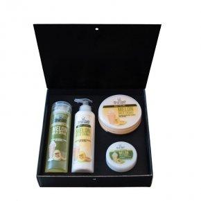 Geschenk-set melonen-milchshake 850 ml