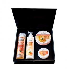 Kosmetická sada čerstvá oranžáda 850 ml