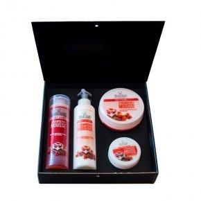 Kosmetická sada jahodová pěna 850 ml