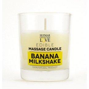 Natürliche Massagekerze Banane 100 ml