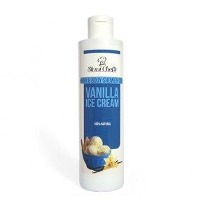 Prírodný sprchový gél na vlasy a telo vanilková zmrzlina 250 ml