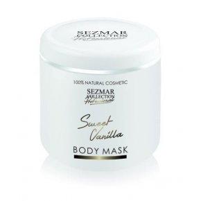 Prírodná maska na tvár a telo sladká vanilka 500 ml