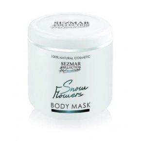 Prírodná maska na tvár a telo snežné kvety 500 ml