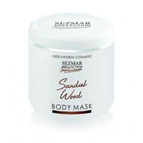 Přírodní maska na tělo a obličej santalové dřevo 500 ml
