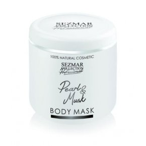Přírodní maska na tělo a obličej perla & pižmo 500 ml