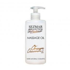 Přírodní masážní olej pomeranč & skořice 500 ml