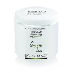Přírodní maska na tělo a obličej zelený čaj 500 ml