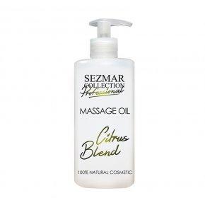 Přírodní masážní olej citrusová směs 500 ml