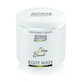 Přírodní maska na tělo a obličej citrusová směs 500 ml