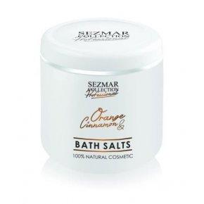 Přírodní koupelová sůl pomeranč & skořice 500 gr