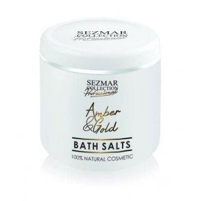 Přírodní koupelová sůl jantar & zlato 500 gr