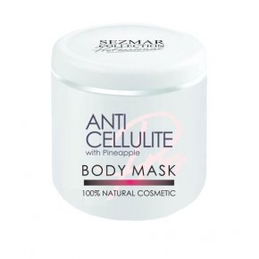 Přírodní tělová anticelulitidní maska s ananasem 500 ml