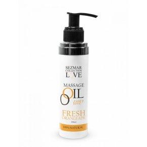 Přírodní masážní olej pomeranč 100 ml