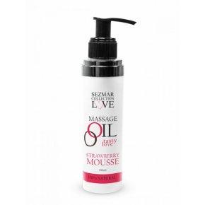 Naturalny olejek do masażu truskawka 100 ml