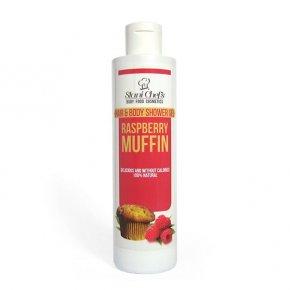 Prírodný sprchový gél na vlasy a telo malinový keks 250 ml