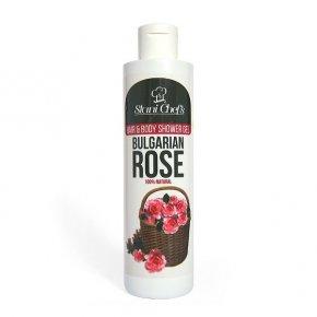 Prírodný sprchový gél bulharská ruža 250 ml