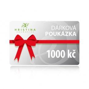 Elektronická dárková poukázka 1000 kč