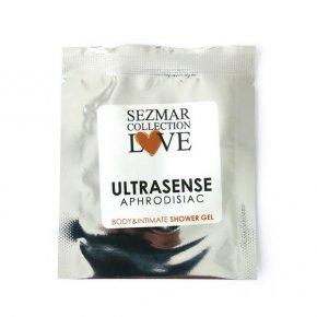 Natürliches Intim Duschgel mit Aphrodisiaka ultrasense 5 ml