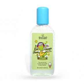 Prírodný čistiaci gél na ruky pre deti vanilková zmrzlina 90 ml