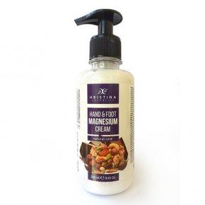 Prírodný krém na ruky a nohy s horčíkom a olejmi 250 ml