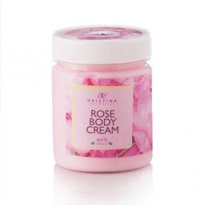 Naturalny krem do ciała z dodatkiem róży 200 ml