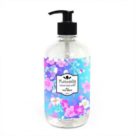 Přírodní tekuté mýdlo na ruce vše potřebné 500 ml