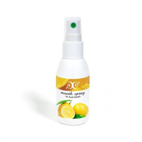 Naturalny odświeżacz oddechu cytryna 50 ml