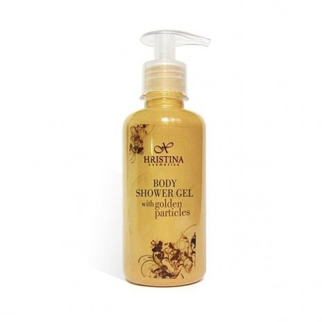 Přírodní sprchový gel se zlatými částicemi 200 ml